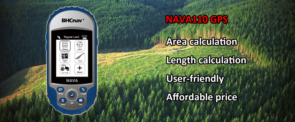 NAVA110 Area Calculation GPS