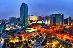 Night view of Beijing